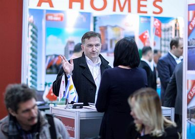 Moscow's Premier International Real Estate Show MPIRES 2017 / Frühling. Fotografie 48