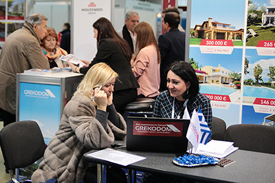 Moscow's Premier International Real Estate Show MPIRES 2017 / το φθινόπωρο. φωτογραφία 5