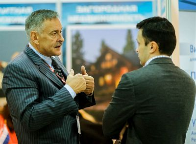 Moscow's Premier International Real Estate Show MPIRES 2017 / Frühling. Fotografie 73