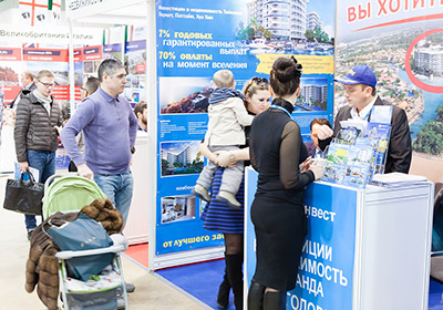 Mosca Premier International Real Estate Show MPIRES 2018 / primavera. Foto 2