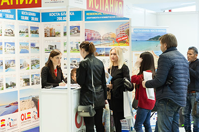 Mosca Premier International Real Estate Show MPIRES 2018 / primavera. Foto 4