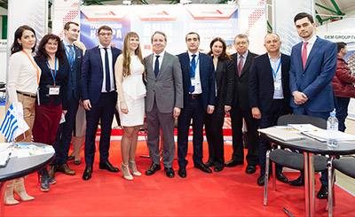 Mosca Premier International Real Estate Show MPIRES 2018 / primavera. Foto 22