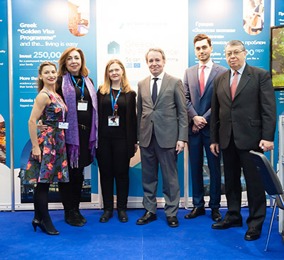 Mosca Premier International Real Estate Show MPIRES 2018 / primavera. Foto 23