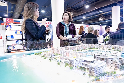 Moscow's Premier International Real Estate Show MPIRES 2019 / Herbst. Fotografie 12