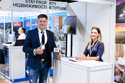 Moscow's Premier International Real Estate Show MPIRES 2019 / Herbst. Fotografie 13