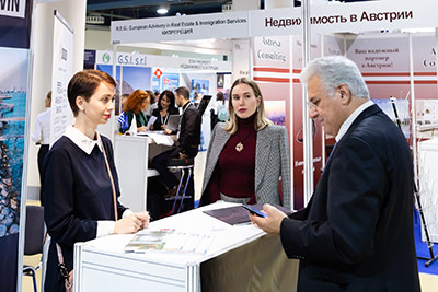 Moscow's Premier International Real Estate Show MPIRES 2019 / Herbst. Fotografie 20