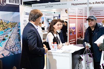 Moscow's Premier International Real Estate Show MPIRES 2019 / Herbst. Fotografie 27
