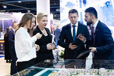 Moscow's Premier International Real Estate Show MPIRES 2019 / Herbst. Fotografie 30