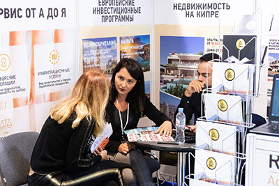 Moscow's Premier International Real Estate Show MPIRES 2019 / Herbst. Fotografie 35