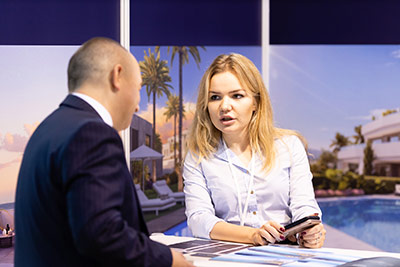 Moscow's Premier International Real Estate Show MPIRES 2019 / Herbst. Fotografie 48