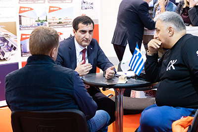 Moscow's Premier International Real Estate Show MPIRES 2019 / Herbst. Fotografie 53