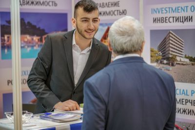 Moscow's Premier International Real Estate Show MPIRES 2019 / άνοιξη. φωτογραφία 15