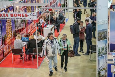 Moscow's Premier International Real Estate Show MPIRES 2019 / άνοιξη. φωτογραφία 23