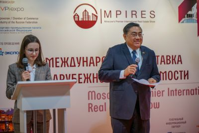 Moscow's Premier International Real Estate Show MPIRES 2019 / άνοιξη. φωτογραφία 29