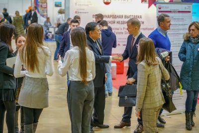 Moscow's Premier International Real Estate Show MPIRES 2019 / άνοιξη. φωτογραφία 32