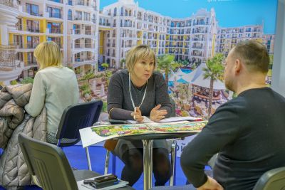 Moscow's Premier International Real Estate Show MPIRES 2019 / άνοιξη. φωτογραφία 38