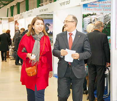 Mosca Premier International Real Estate Show MPIRES 2016 / primavera. Foto 1