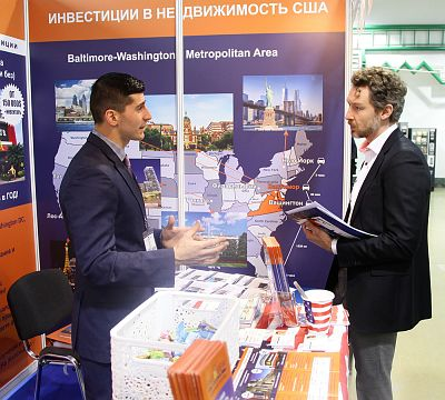 Moscow's Premier International Real Estate Show MPIRES 2017 / Frühling. Fotografie 19