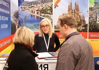 Moscow's Premier International Real Estate Show MPIRES 2017 / Frühling. Fotografie 40