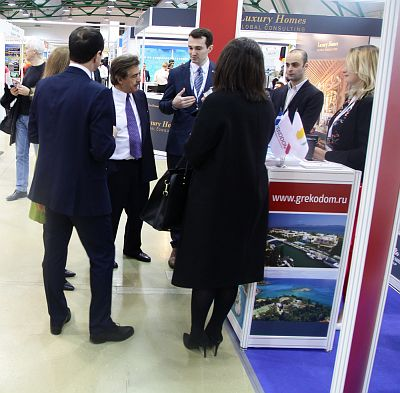 Moscow's Premier International Real Estate Show MPIRES 2017 / Frühling. Fotografie 28