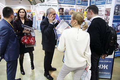 Moscow's Premier International Real Estate Show MPIRES 2017 / Frühling. Fotografie 79