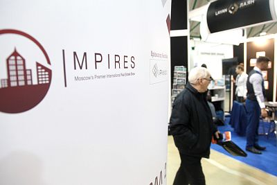 Moscow's Premier International Real Estate Show MPIRES 2017 / Frühling. Fotografie 22
